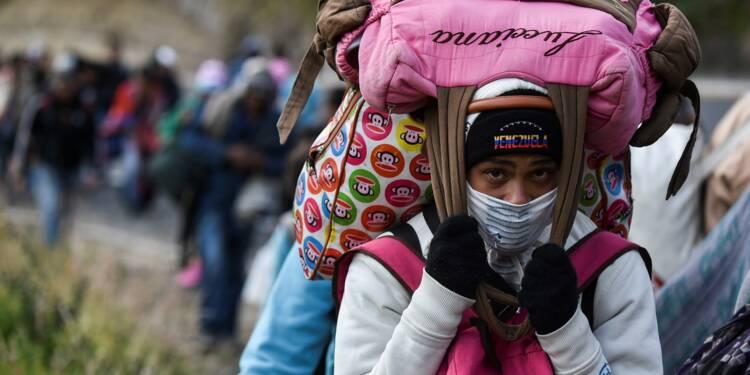 Les migrants du Venezuela craignent plus la crise que la xénophobie