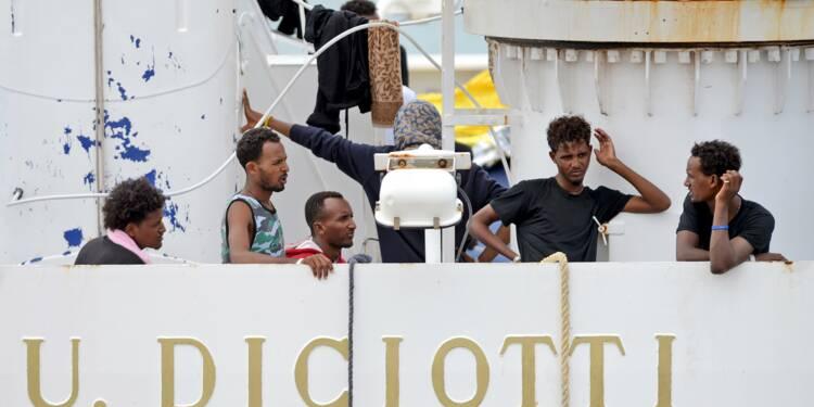 Migrants: l'Italie engage un bras de fer avec l'Union européenne
