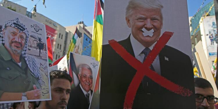 Trump annule 200 millions de dollars d'aide aux Palestiniens