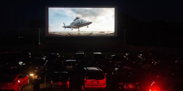 Aux Etats-Unis, les cinémas drive-in attirent les nostalgiques