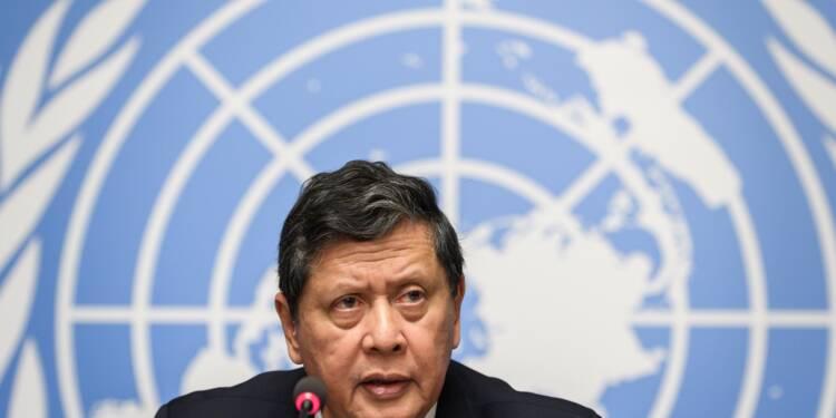 """Le chef de l'armée birmane doit être poursuivi pour """"génocide"""", selon l'ONU"""