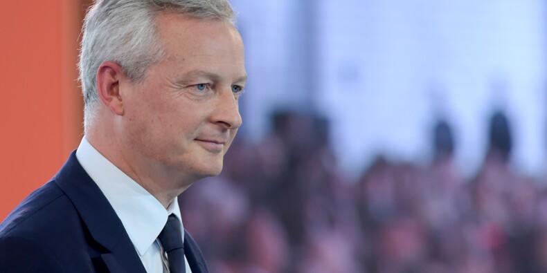"""Pour Le Maire, """"changer de stratégie"""" économique """"serait une grave erreur"""""""