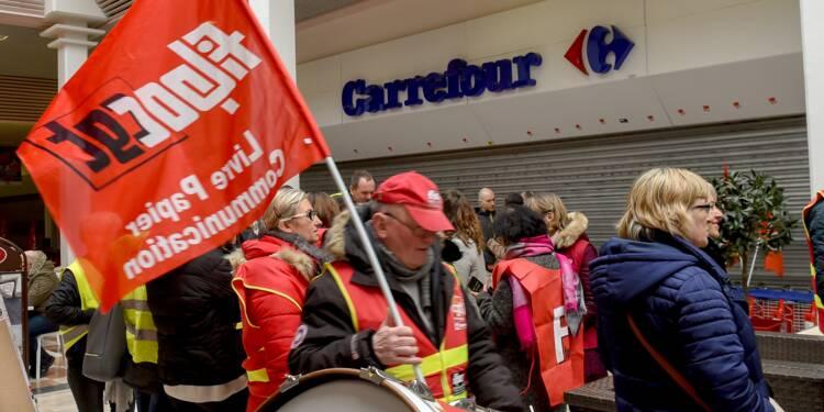 Les salariés des ex-magasins Dia dans l'impasse