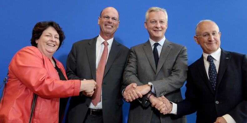 Création d'un grand pôle financier public en France, mode d'emploi