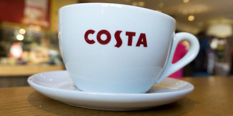 GB: Coca-Cola rachète la chaîne de cafés Costa pour 3,9 mds de livres