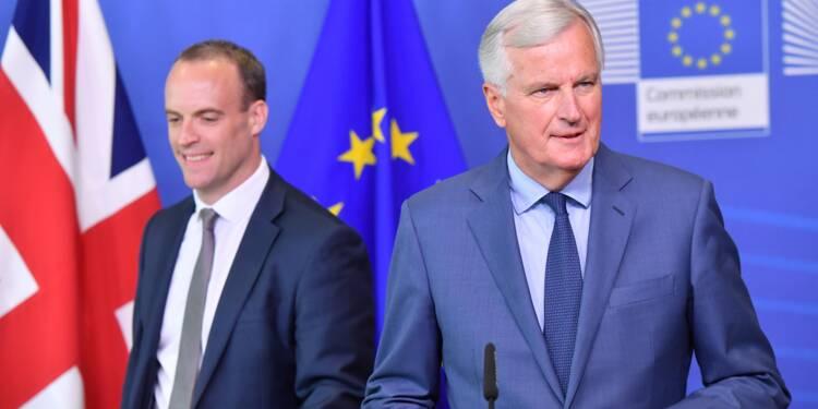 """Brexit: Barnier réclame en """"urgence"""" des détails sur l'Irlande"""