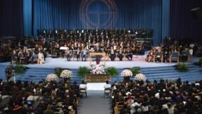 Des heures de chansons et d'hommages, les funérailles grandioses d'Aretha Franklin