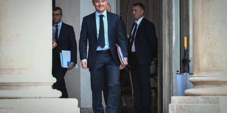 """Prélèvement à la source: un """"arrêt"""" n'est pas exclu, admet Darmanin"""