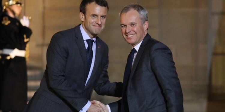 François de Rugy succède à Nicolas Hulot à l'Ecologie