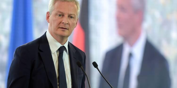 """Taxation des Gafa: Paris appelle """"à une prise de conscience"""" européenne"""
