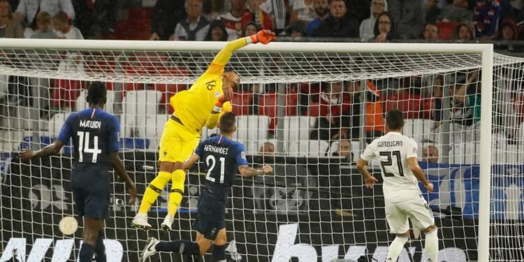 Ligue des nations: les champions du monde français plient sans rompre en Allemagne