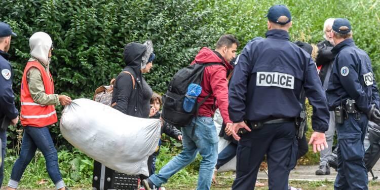Grande-Synthe: évacuation d'un campement d'environ 1.800 migrants