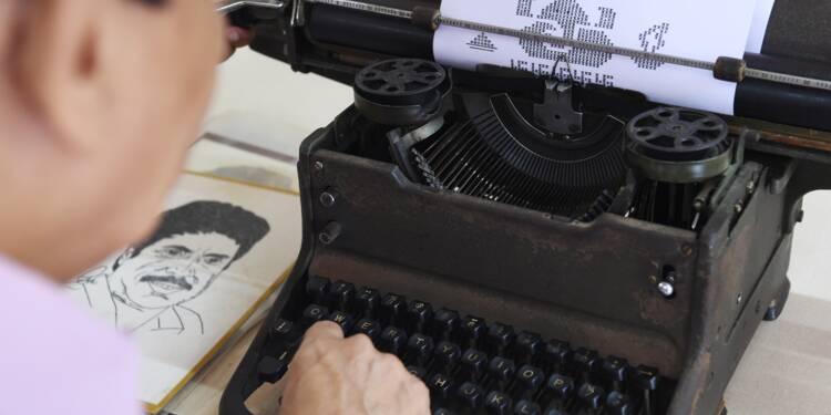 Inde: de l'art du portrait à la machine à écrire