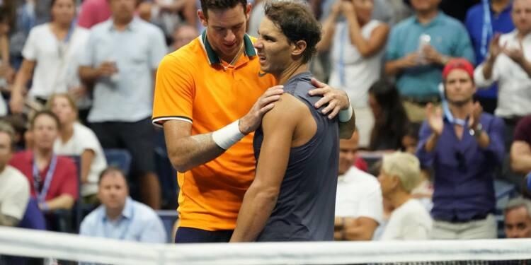 US Open - Del Potro en finale après l abandon de Nadal, touché à un ... 7497891b84fa