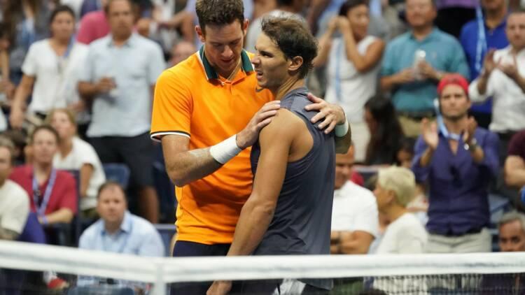 US Open - Del Potro en finale après l'abandon de Nadal, touché à un genou
