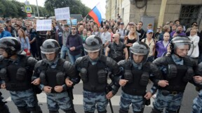 Russie: des centaines de manifestants arrêtés un jour de vote
