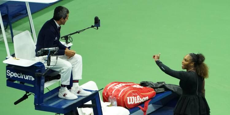 US Open: 17.000 dollars d'amende pour Serena après la finale polémique