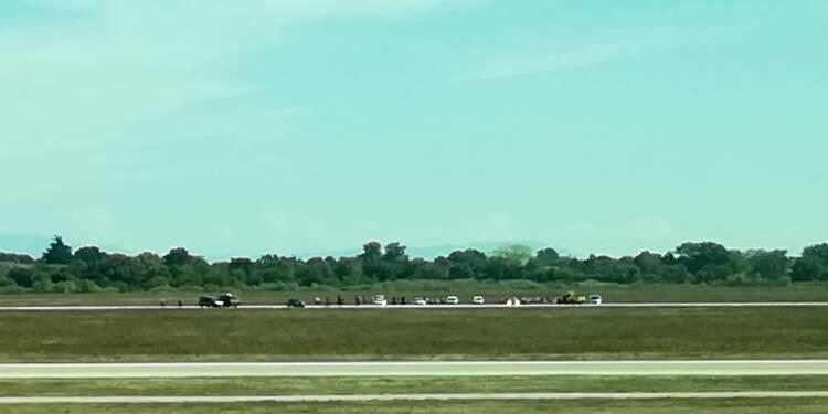 Intrusion spectaculaire sur les pistes de l'aéroport de Lyon