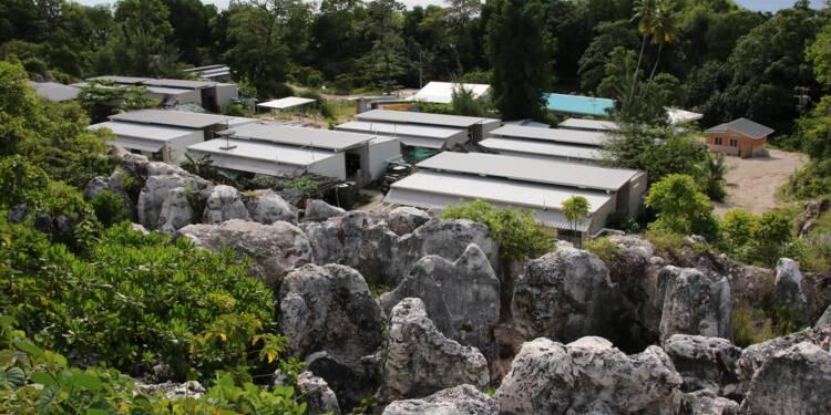 La vie de désespoir des réfugiés relégués par l'Australie sur une île du Pacifique
