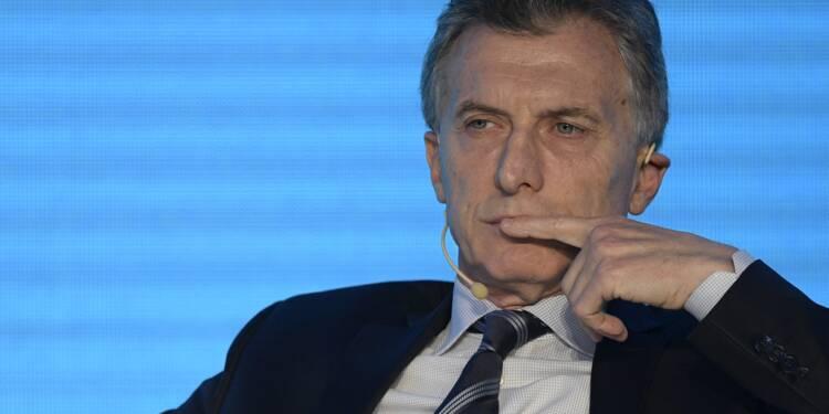 Argentine: Mauricio Macri, un président en plein doute