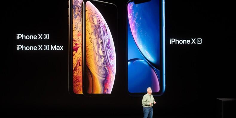 Apple, fermement calé sur le haut de gamme, dévoile trois iPhone