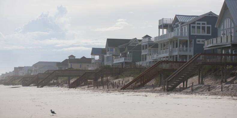 L'ouragan Florence joue au chat et à la souris en Caroline du Sud