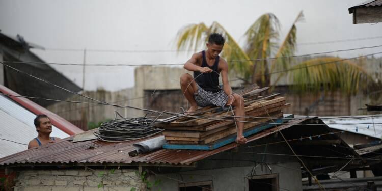 Philippines : hausse du niveau d'alerte face à l'arrivée d'un super typhon