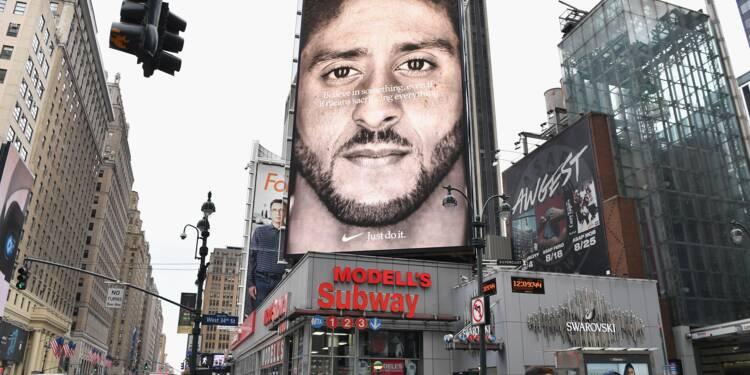"""Plusieurs indices pointent vers un """"effet Kaepernick"""" sur Nike"""