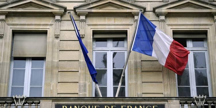La banque de France anticipe 1,6% de croissance pendant trois ans