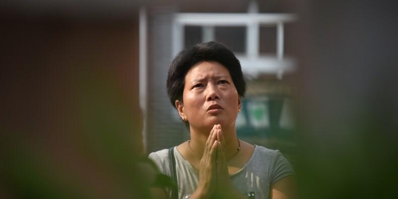 """""""Nulle part où prier"""": des catholiques chinois désemparés"""