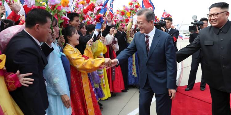Troisième sommet intercoréen: le leader sud-coréen acclamé à Pyongyang