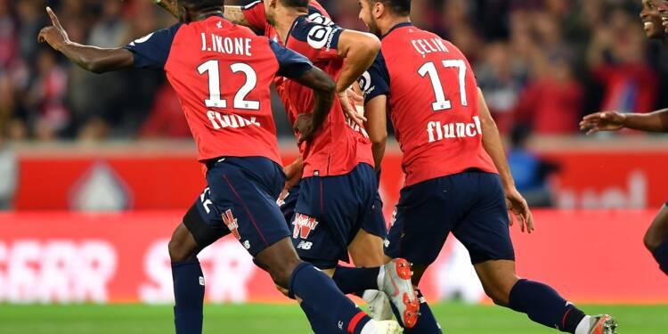 Ligue 1: ça plane pour Lille, pas pour Nice