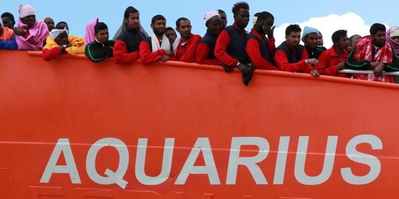 """Migrants: l'Aquarius """"en route vers Marseille"""", demande l'autorisation de débarquer"""