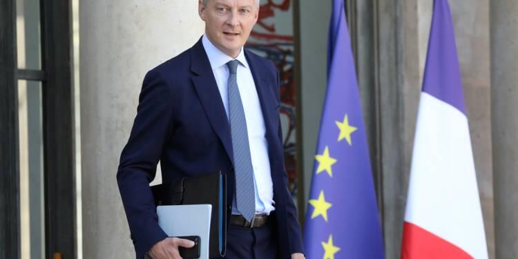 """Zone euro: """"irresponsable"""" de ne pas accélérer les réformes, selon Bruno Le Maire"""