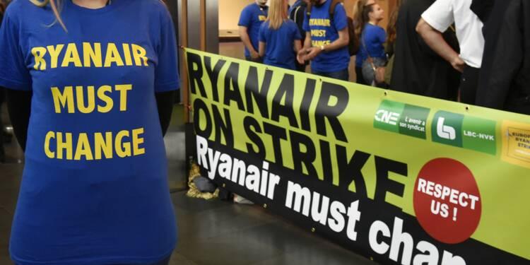 Ryanair revoit ses ambitions à la baisse en raison des grèves