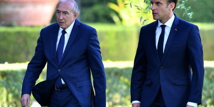 Collomb a présenté sa démission à Emmanuel Macron qui l'a refusée