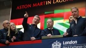Aston Martin fait une entrée mitigée en Bourse à Londres