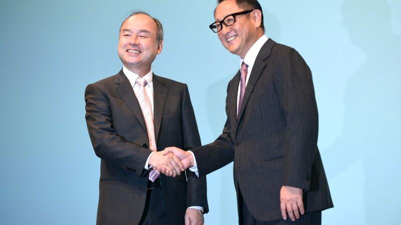 Toyota et SoftBank s'allient dans les nouveaux services de mobilité