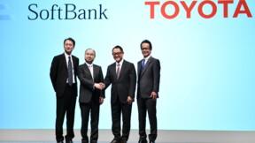 Dans la course à la voiture autonome, alliance surprise entre Toyota et SoftBank