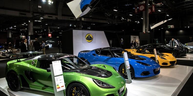 Pour le public du Mondial de l'automobile, les bolides passent avant l'électrique