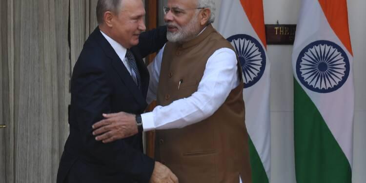 L'Inde acquiert des systèmes antiaériens russes, malgré les avertissements de Washington