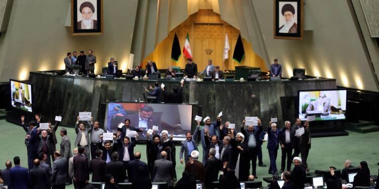 """Iran: le Parlement adopte un projet de loi contre le financement du """"terrorisme"""""""