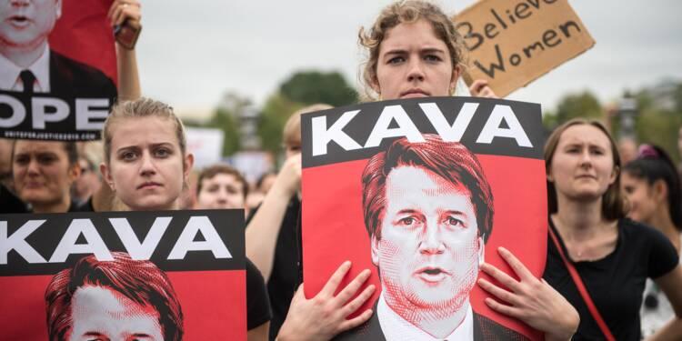 Manifestants en colère à Washington pour la confirmation de Kavanaugh