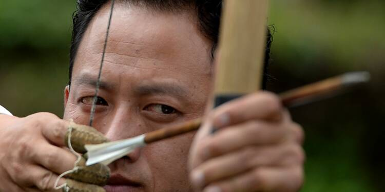 Le tir à l'arc, un mode de vie au Bhoutan
