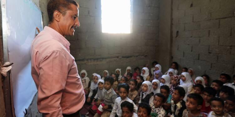 Au Yémen, l'école à la maison pour des enfants de la guerre