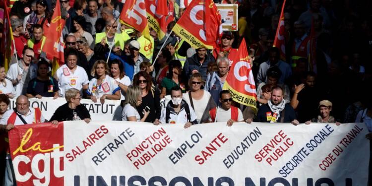 """A Marseille, des milliers de manifestants contre """"la casse du service public"""""""