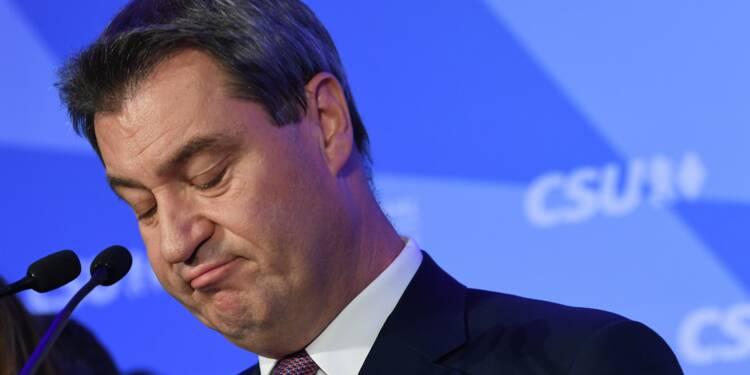 En Bavière, camouflet électoral historique pour les alliés de Merkel