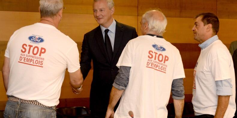 Ford préfèrerait fermer l'usine de Blanquefort, colère de Bruno Le Maire