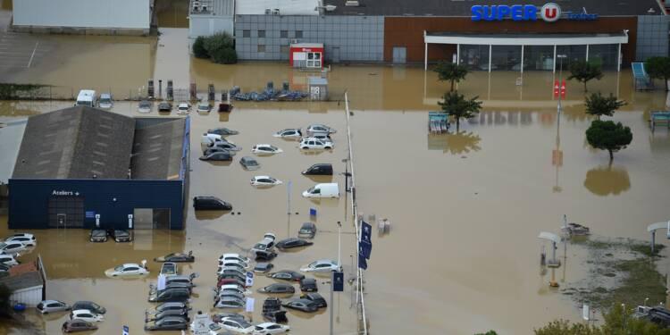 Inondations: l'Aude meurtrie panse ses plaies et évalue les dégâts