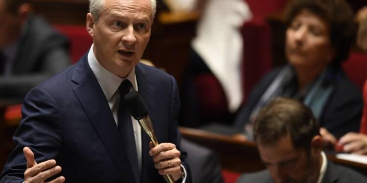 """Déficit: Le Maire appelle Rome à """"respecter les règles"""" de la zone euro"""